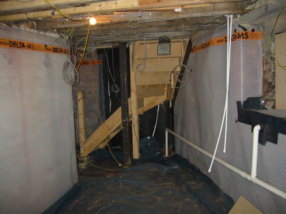 Basement Conversion To Kitchen and Dining Room