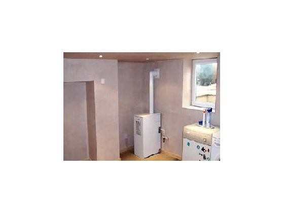 Small Basement Conversion to Utility Room