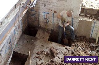 Basement And Conversion Excavation And Underpinning